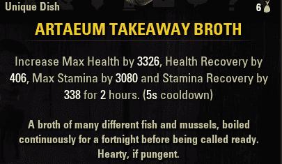 ESO Artaeum Takeaway Broth