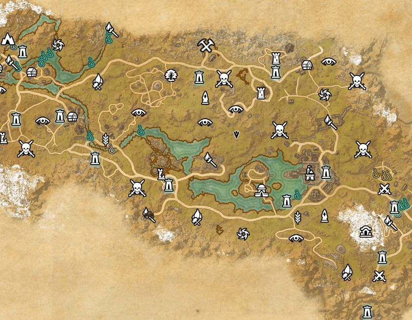 ESO fishing map Rift