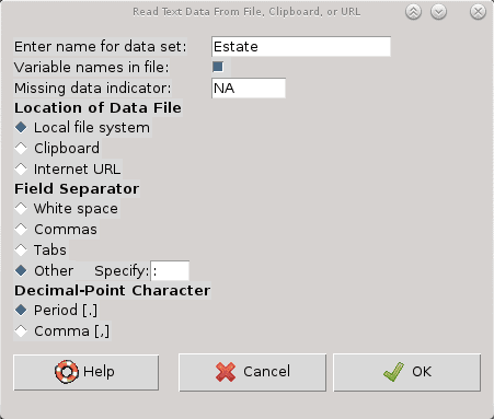 R data import